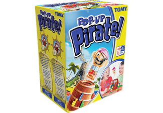 TOMY Pop Up Pirate! Kinderspiele Mehrfarbig