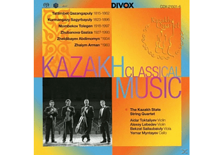 Kazakh State String Quartet - Music for String Quartet by Kazakh Composers - (SACD)