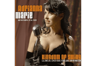 Adrianna Marie - Kingdom of Swing - (CD)