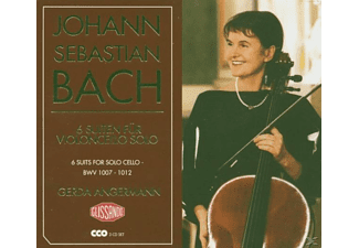 Gerda Angermann - 6 Suiten Für Violoncello Solo - (CD)