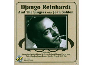 Django Reinhardt, Django And The Singers With Jean Sablon Reinhardt - 1933-1943 - (CD)
