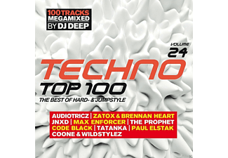 VARIOUS - Techno Top 100 Vol.24 The Best Of Hard-And Jumpst - (CD)