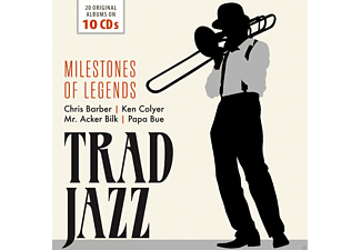 VARIOUS - Trad Jazz-Milestones Of Legends - (CD)