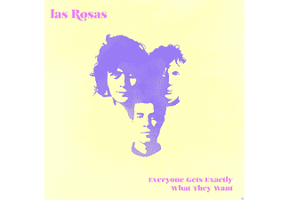 Las Rosas - Everyone Gets Exactly What They Want - (CD)