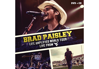 Brad Paisley - Life Amplified World Tour: Live From Wvu - (CD + DVD Video)