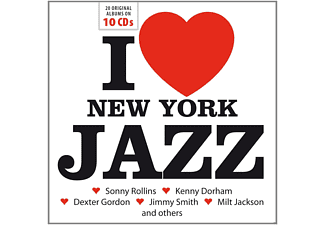 VARIOUS - I Love New York Jazz - (CD)
