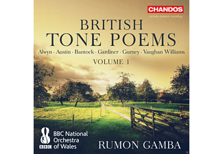 Various Composers, Bbc National Orchestra Of Wales - British Tone Poems Vol.1 - (CD)