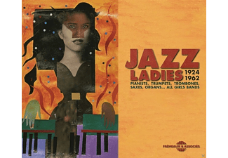 VARIOUS - Jazz Ladies 1924-1962 Pianists,Trumpets,Trombone - (CD)