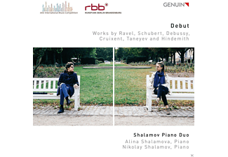 Shalamov Piano Duo - Shalamov Piano Duo-ARD Music Comp.2015 Award - (CD)