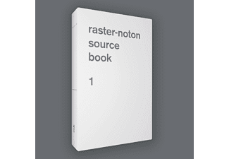 VARIOUS - Raster-Noton. Source Book 1 (Book+CD) - (CD + Buch)