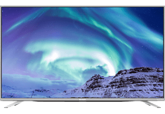"SHARP LC-49CUF8472  49"" Smart UHD 4K TV - Silver"