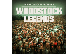 VARIOUS - Woodstock Legends - (Vinyl)