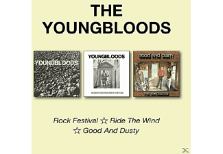 The Youngbloods - Rock Festival/Ride The Wind/Good And Dusty - (CD)