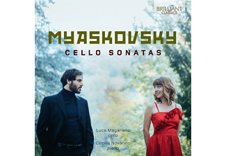 Magariello,Luca/Novarino,Cecilia - Cello Sonatas - (CD)