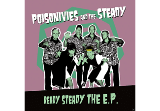 Poisonivies And The Steady - Ready Steady The EP (Lim.Ed.) - (Vinyl)
