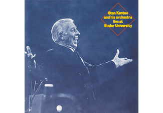 Stan Kenton - Stan Kenton and his orchestra live at Butler University - (CD)