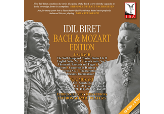 Idil Biret, London Mozart Players - Bach & Mozart Edition - (CD + DVD Video)