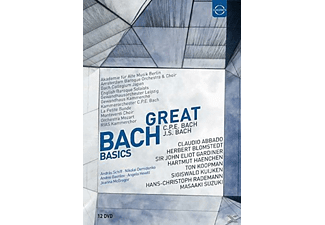 VARIOUS, Various Orchestras - Great Bach Basics - (DVD)