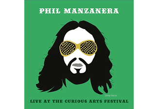 Phil Manzanera - Live At The Curious Arts Festival - (CD)