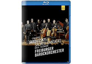 Philippe Jaroussky, Barockorchester Freiburg, VARIOUS - Sacred Cantatas - (Blu-ray)