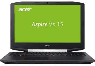 ACER Aspire VX 15 (VX5-591G-51XS), Gaming Notebook mit 15.6 Zoll Display, Core™ i5 Prozessor, 16 GB RAM, 512 GB SSD, GeForce® GTX 1050Ti, Schwarz