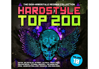 VARIOUS - Hardstyle Top 200-10 - (CD)