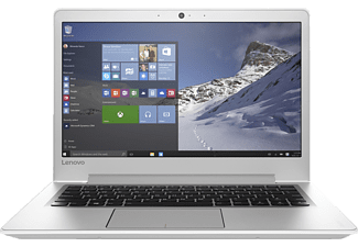 LENOVO IdeaPad 510S, Notebook mit 13.3 Zoll Display, Core™ i7 Prozessor, 8 GB RAM, 256 GB SSD, HD-Grafik 620, Weiß