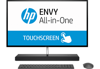 HP ENVY 27-b100ng, All-in-One PC mit 27 Zoll, 2 TB Speicher, 16 GB RAM, Core™ i7 Prozessor, Grau