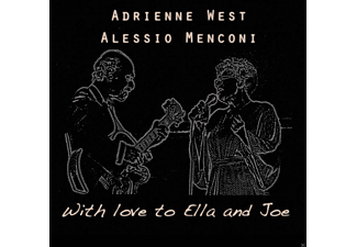 Adrienne West, Alessio Menconi - With Love to Ella and Joe - (CD)