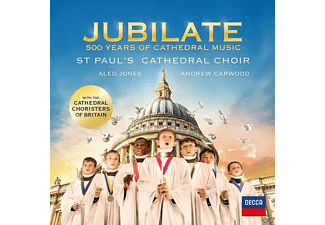 Aled Jones, Andrew Carwood, ST Paul's Cathedral Choir - Jubilate: 500 Years Of Cathedral Music - (CD)