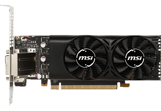 MSI GeForce GTX 1050Ti LP 4GB (V809-2404R)( NVIDIA, Grafikkarte)