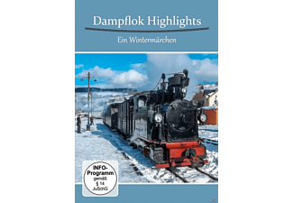 Dampflok Highlights-Ein Wintermärchen - (DVD)