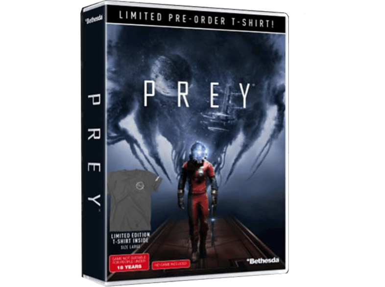 Prey T-shirt Pre-order Bonus PlayStation 4 gaming games xbox one games gaming games pc games gaming games ps4 games