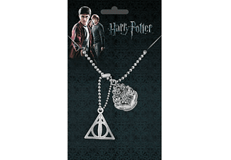 Harry Potter Dog Tag Crest & Hallows
