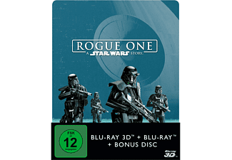 Rogue One - A Star Wars Story (2D+3D) Steelbook [3D Blu-ray (+2D)]