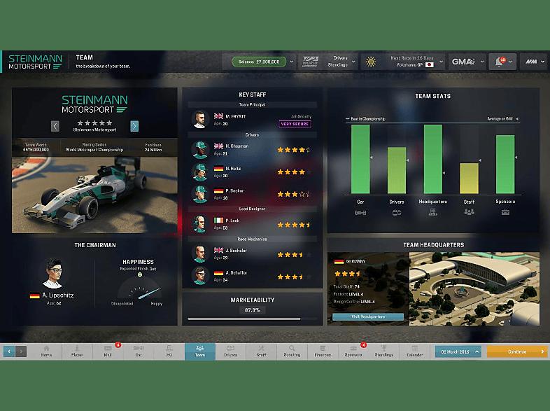 Motorsport Manager - Építs csapatot!