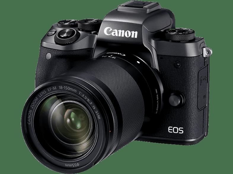CANON EOS M5 με φακό 18-150mm
