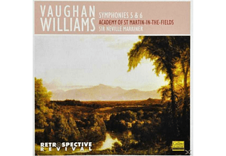 Sir Neville Marriner - Vaughan Williams: Symphonies Nos.5 & 6 [CD]