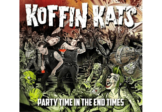 The Koffin Kats - Party Time In The End Times - (CD)