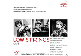 Poltavsky,S./Rumyantsev,E./Krotenko,G. - LOW STRINGS LIVE - (CD)