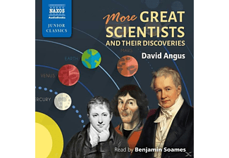 More Great Scientists and Their Discoveries - 2 CD - Hörbuch