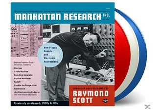 Raymond Scott - MANHATTAN RESEARCH INC (LTD RED/WHITE/BLUE VINYL) - (LP + Download)