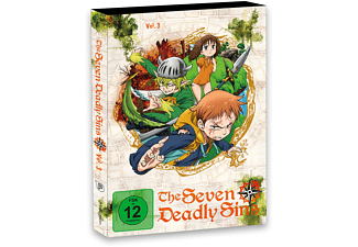 The Seaven Deadly Sins 3 - (DVD)