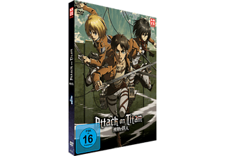 Attack on Titan Vol. 4 - (DVD)