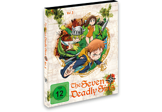 The Seaven Deadly Sins - Vol. 3 - (Blu-ray)