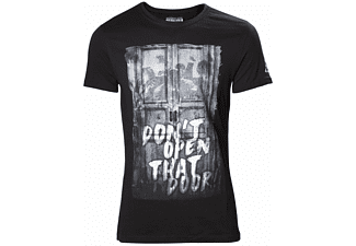 Resident Evil T-Shirt -L- Don't Open That Door