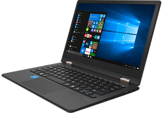 ODYS Shape Pro, Convertible mit 11.6 Zoll, 32 GB Speicher, 2 GB RAM, Atom™ x5 Prozessor, Windows 10 Home, Champagner