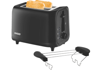 UNOLD 38415 Easy Black, Toaster, 800 Watt
