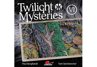 Paul Burghardt - Twilight Mysteries-Krégula Folge 6 - (CD)