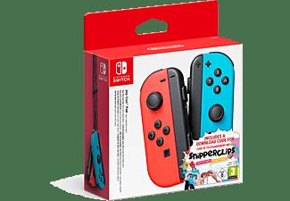 Nintendo Switch Joy-Con set Rood-Blauw Snipperclips bundel
